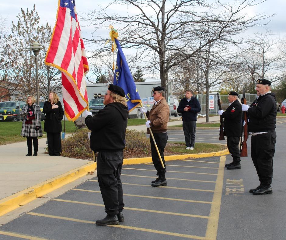 Harnish Flag Ceremony